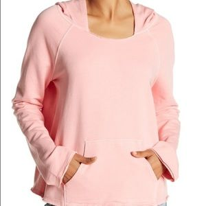 "SANCTUARY ""Roadtripper"" Pink French Terry Hoodie"